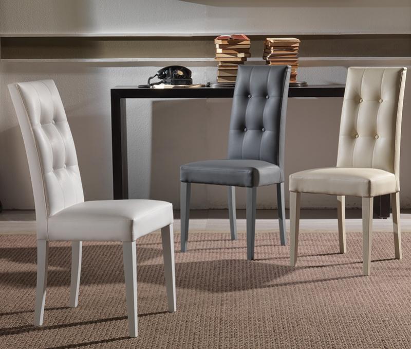 Set 4 sedie design eleganti cucina soggiorno moderne - Sedie cucina moderne ...