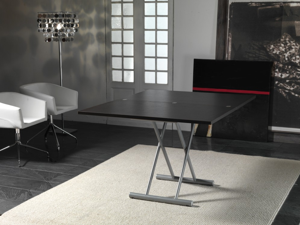 Transformable convertible table up down lift living - Table up down extensible ...