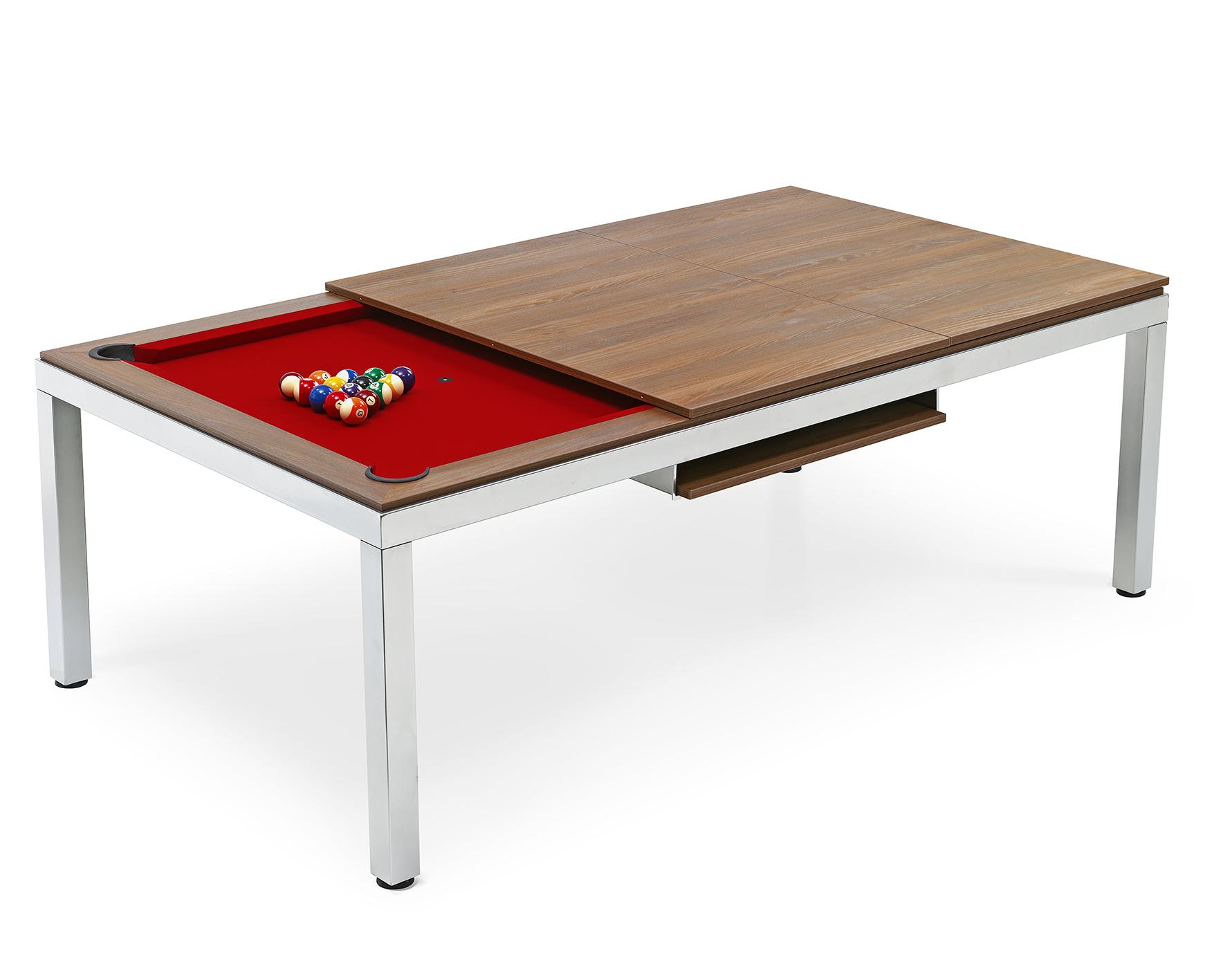 Tavolo da biliardo carambola fas trasformabile coperchio - Tavolo da biliardo trasformabile in tavolo da pranzo ...