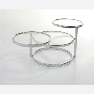 Tavolino con piani girevoli