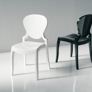 Set 4 sedie in policarbonato