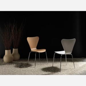 Set 4 sedie impilabili in faggio