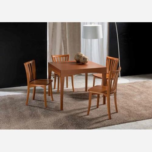 Set 4 sedie in legno di faggio