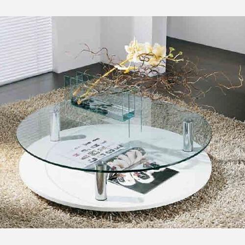 Tavolino da salotto in vetro - MA879 - Emporio3 arredamenti