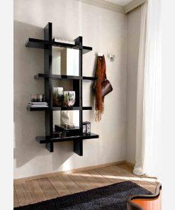 Libreria - Mensole - Appendiabiti a parete moderna - PR488