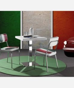 Set 4 sedie in Scay tricolore