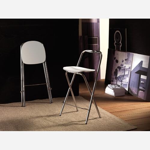 Set 2 sedie pieghevoli laccate