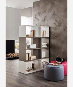 Libreria bifacciale centro stanza - PR606