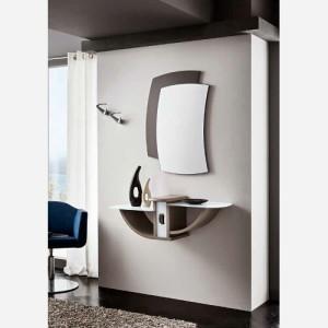 Ingresso moderno con mensole e specchio – PR670