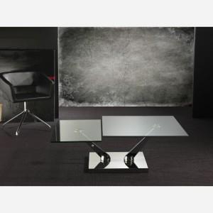 Tavolino trasformabile in vetro Braf – SG277