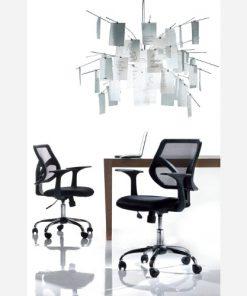 Sedia poltrona da ufficio in tecnorete - SG187