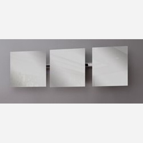 Tris di specchi quadrati