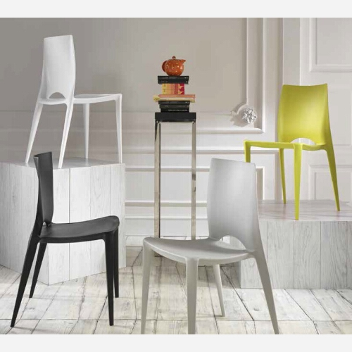 Set 4 sedie in polipropilene st25 for Vendita sedie da cucina