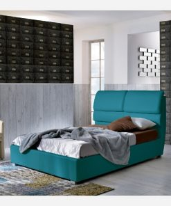 Letto singolo in similpelle - ST137