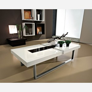 tavolino da salotto julie bianco