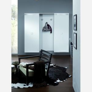 Ingresso moderno con armadio e specchio – MA901