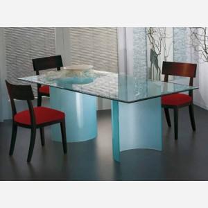 Tavolo da cucina fisso in vetro – OTELLO