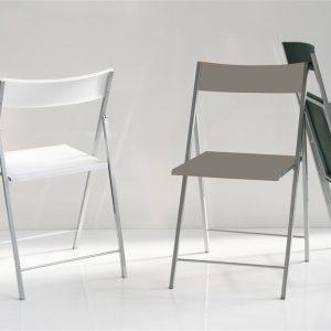 Set 6 sedie da cucina pieghevole Pollino – SG251