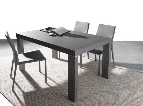 tavolo allungabile in legno alben grigio