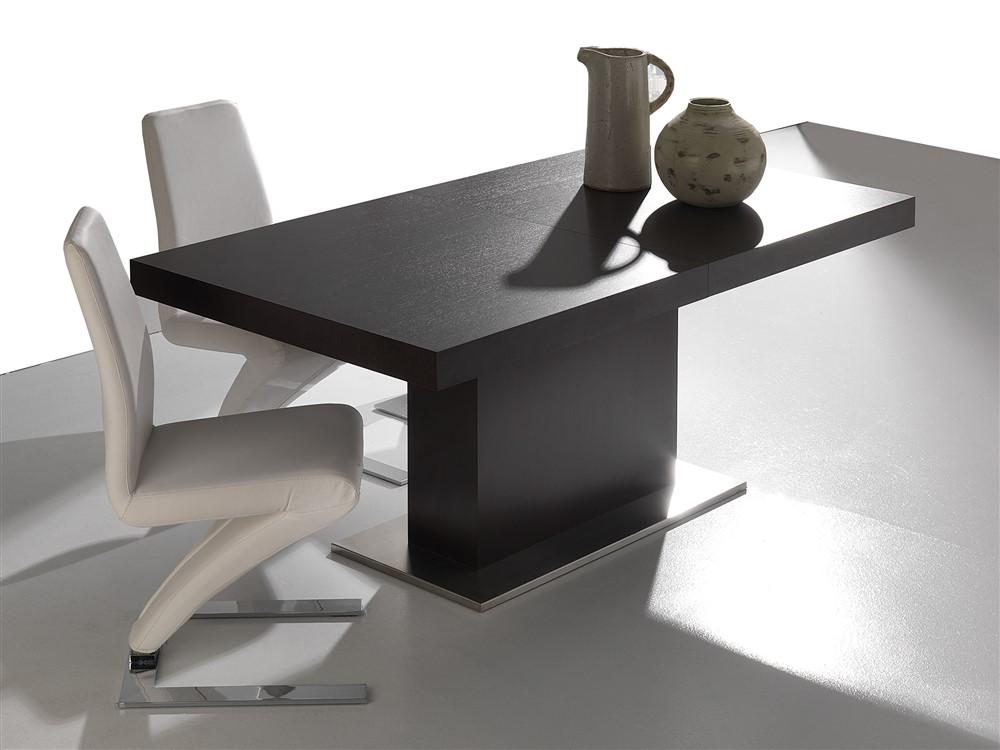 Tavolo allungabile in legno mana wenge - Tavolo da cucina in legno ...