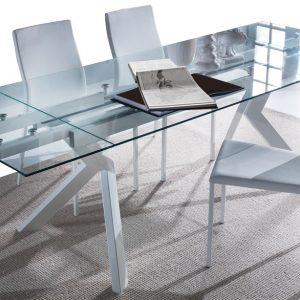 tavolo allungabile tricorno