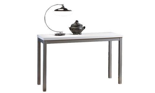 tavolo consolle bianca