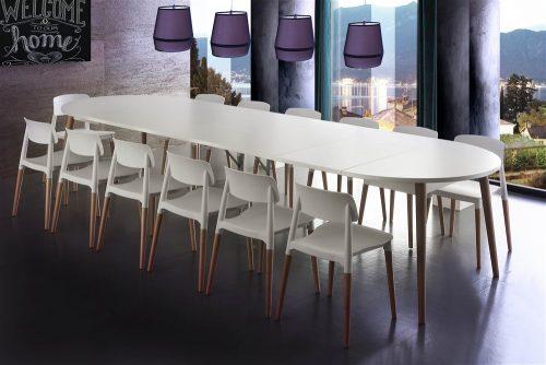 tavolo da cucina rotondo allungabile gotland 1