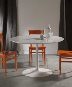 tavolo da cucina rotondo fisso
