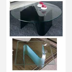 Tavolino da salotto in vetro – ZEFFIRO