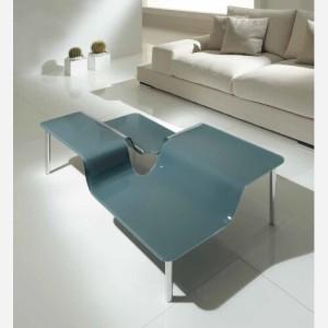 Tavolino da salotto in vetro – ZEUS