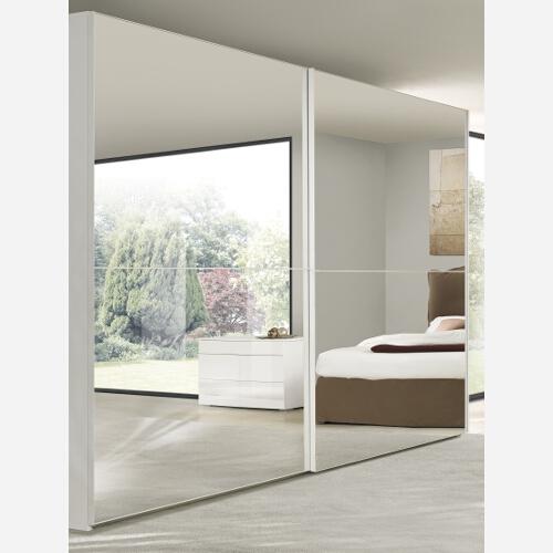 armadio camera da letto a 2 ante scorrevoli va1107 ebay