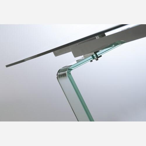 tavolo allungabile cristallo miniglass