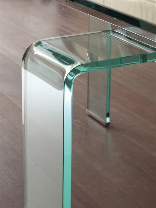 tavolo allungabile in vetro mini glass 2