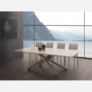 Tavolo allungabile in vetro – Marsicano