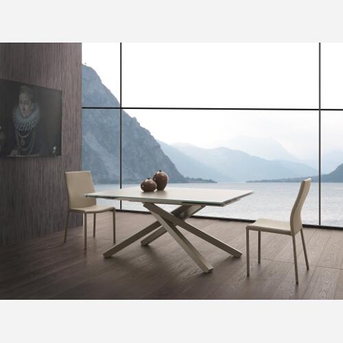 Tavolo allungabile in vetro Infinity - SG1537 - Emporio3 arredamenti