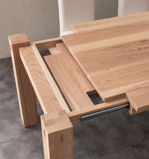 tavolo da cucina allungabile in legno factory 1