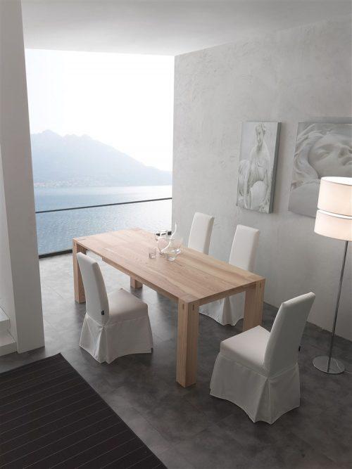 tavolo da cucina allungabile in legno factory 2