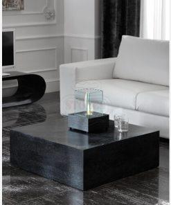tavolino quadrato pietra
