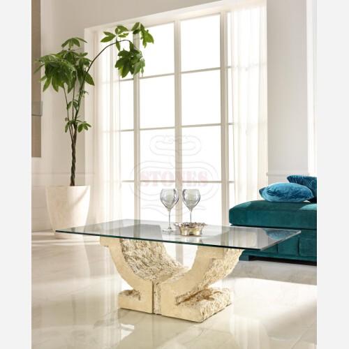 tavolino classico in pietra