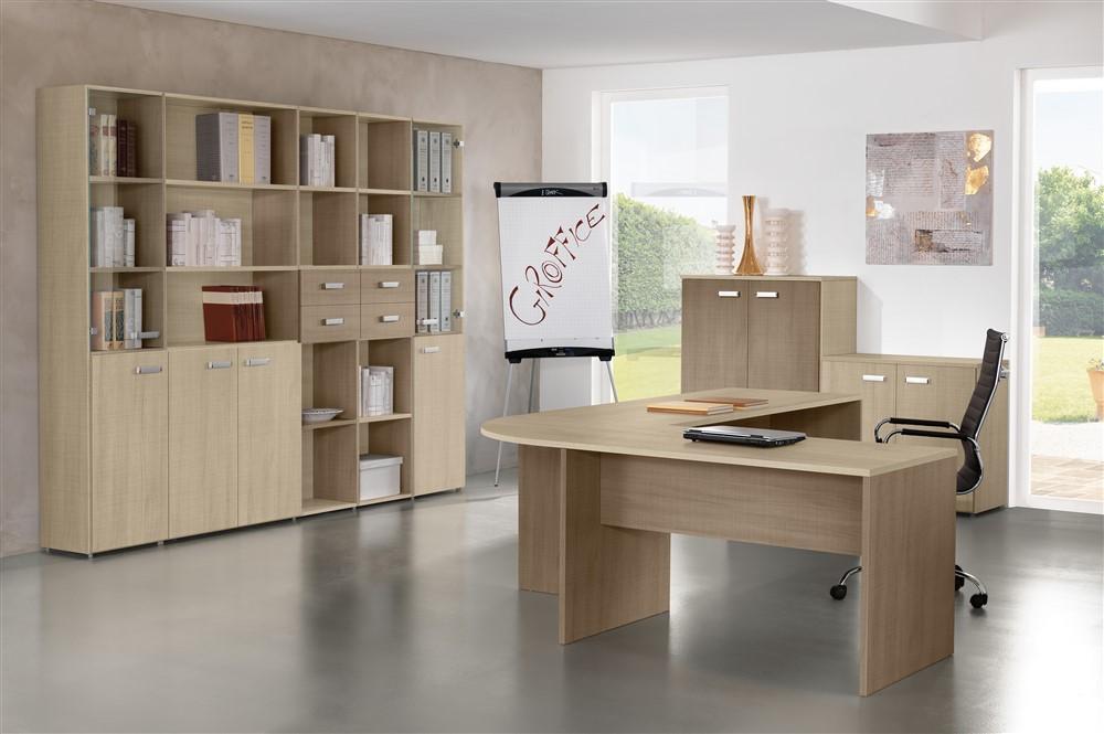 Set mobili da ufficio gf002 for Mobili ufficio online outlet
