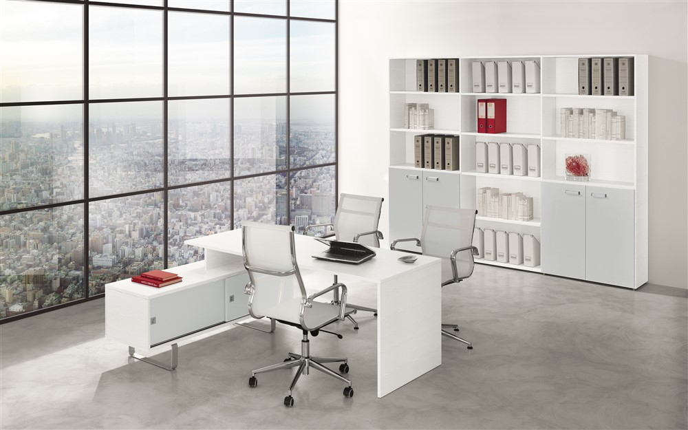 Set mobili da ufficio gf009 for Mobili ufficio online outlet