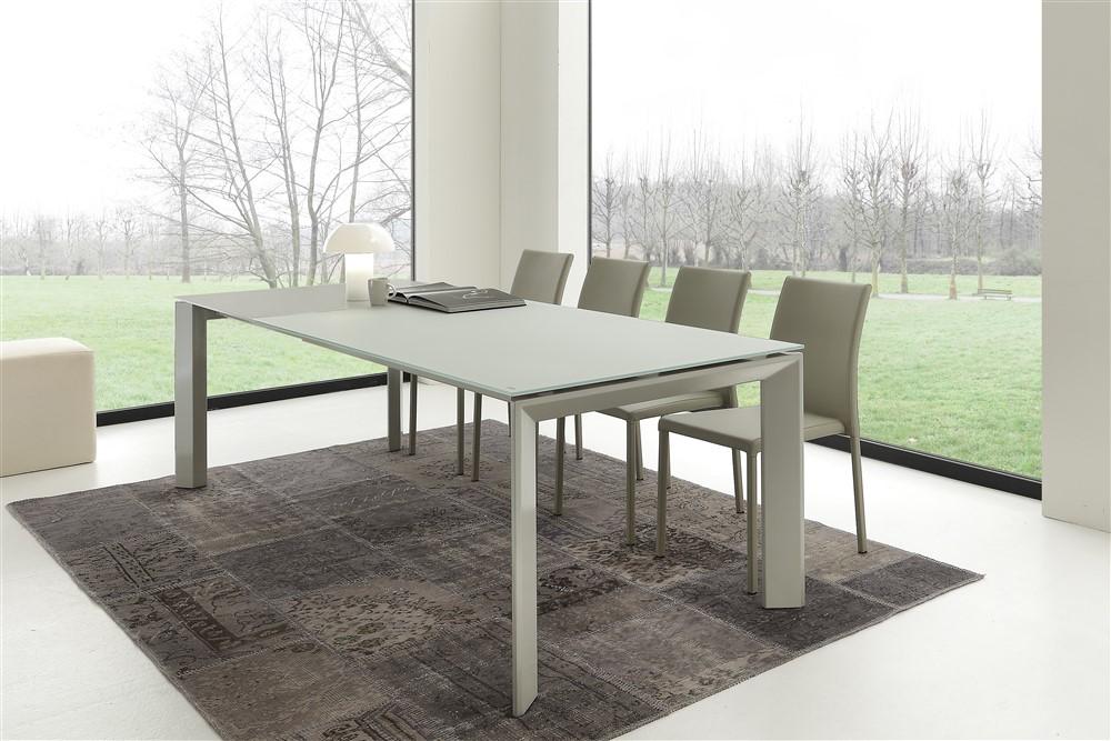 Tavolo allungabile in vetro - Motola - Emporio3 arredamenti