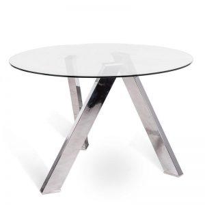 Tavolo fisso in vetro – ST545