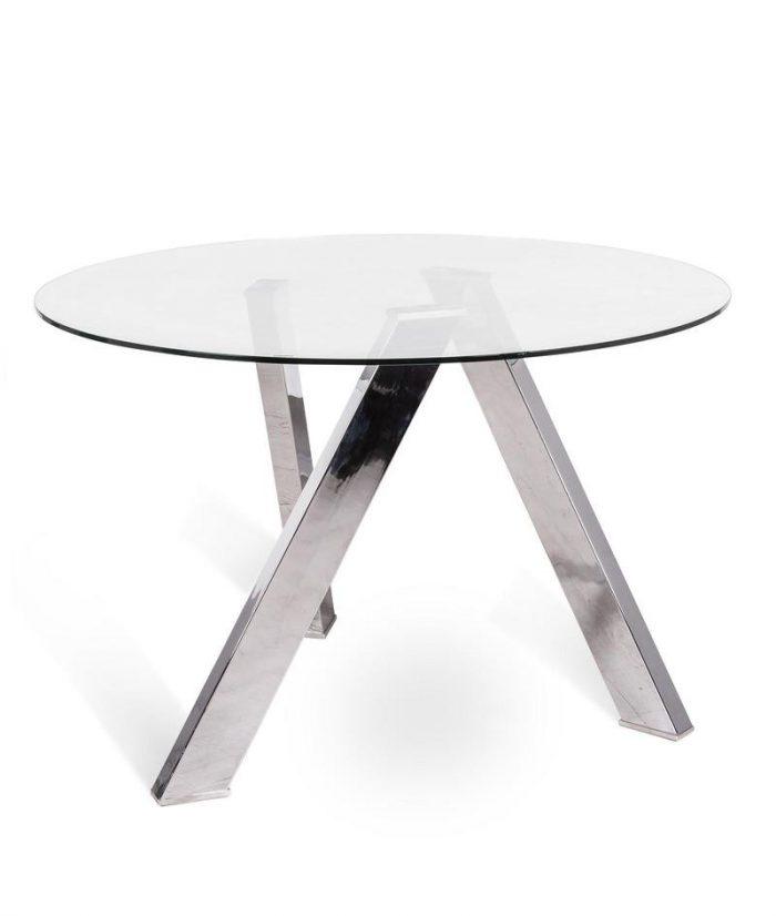 tavolo da cucina in vetro