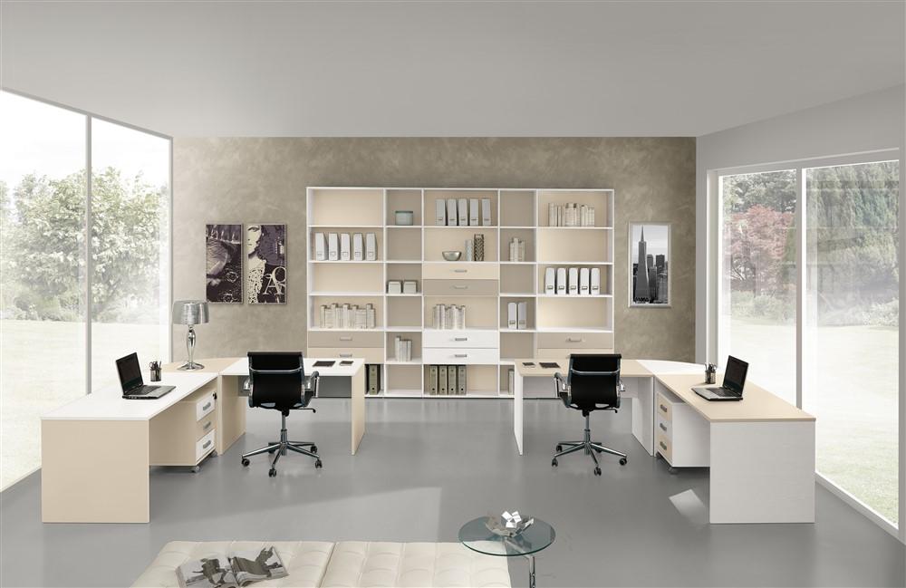Set mobili da ufficio gf016 for Mobili ufficio online outlet