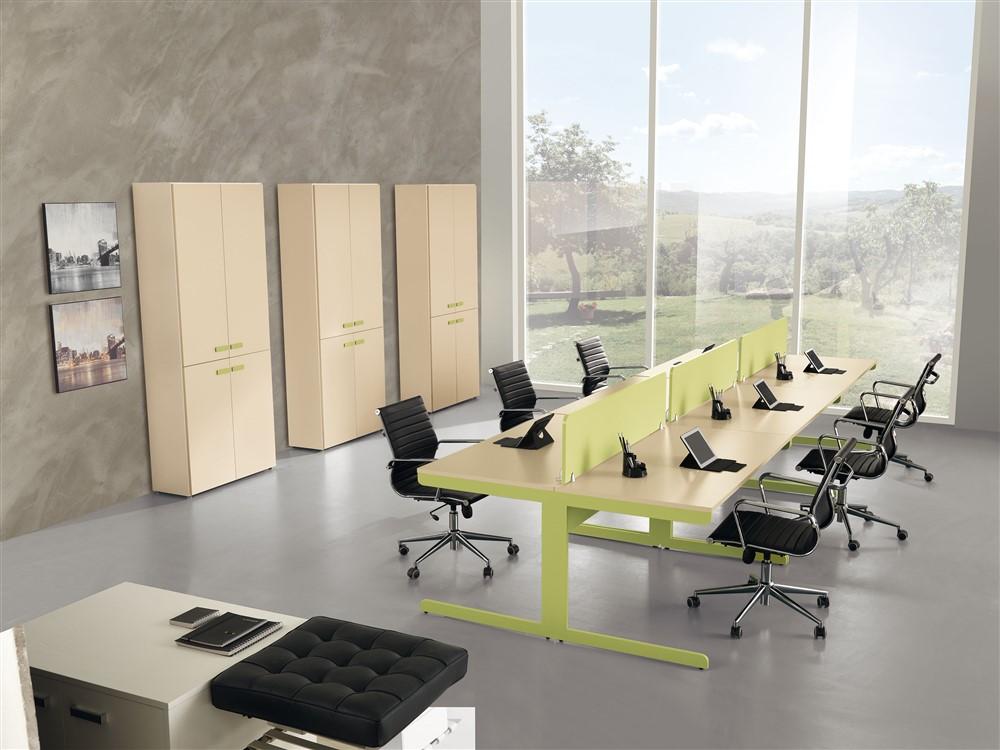 Set mobili da ufficio gf028 for Mobili ufficio online outlet