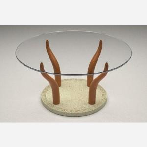 Tavolino da salotto in vetro – MO103C
