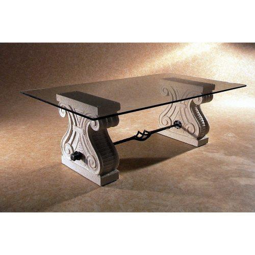 tavolino da salotto artigianale