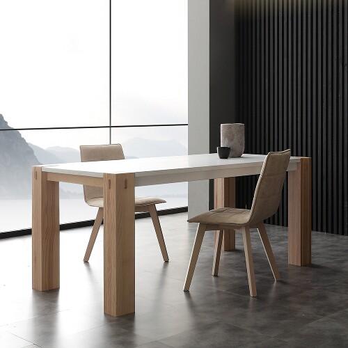 tavolo allungabile in legno massello 1