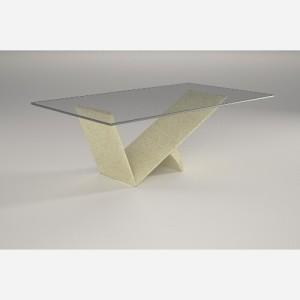 Tavolino da salotto in vetro – MO830